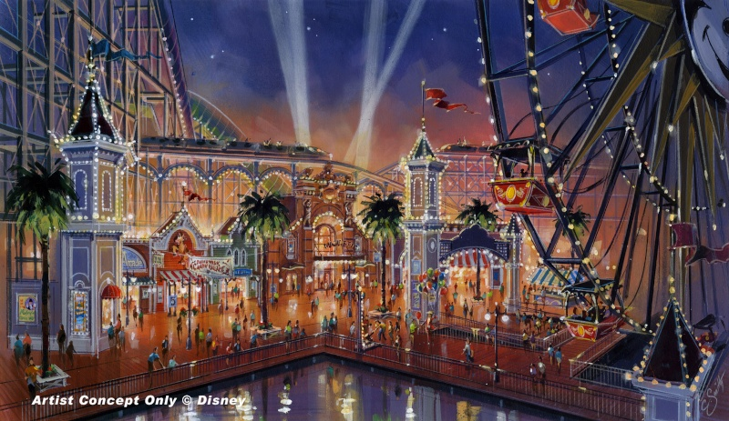 [Disney California Adventure] Placemaking: Pixar Pier, Buena Vista Street, Hollywood Land, Condor Flats Paradi10