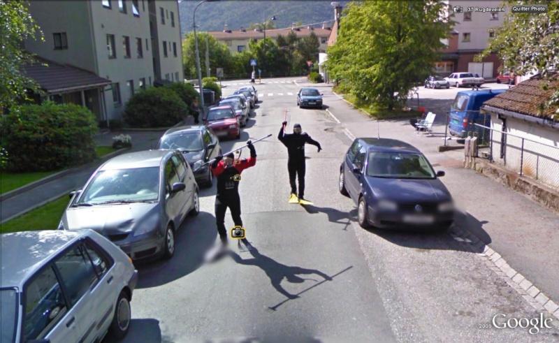 STREET VIEW : des plongeurs attaquent la Google Car Attak10