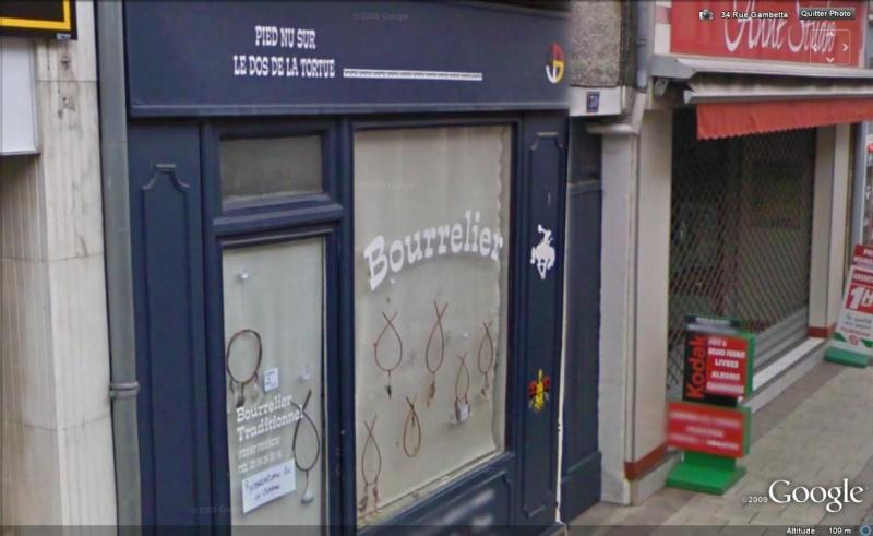STREET VIEW : les façades de magasins (France) Bourre10