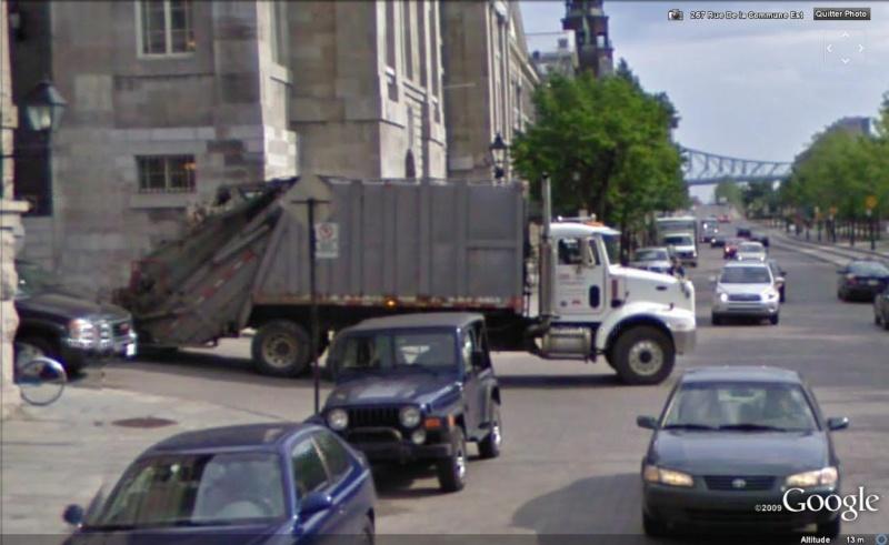 STREET VIEW : Les camions-poubelles, sujet glamour ! Camion13