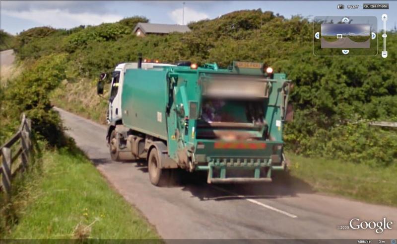 STREET VIEW : Les camions-poubelles, sujet glamour ! Camion14
