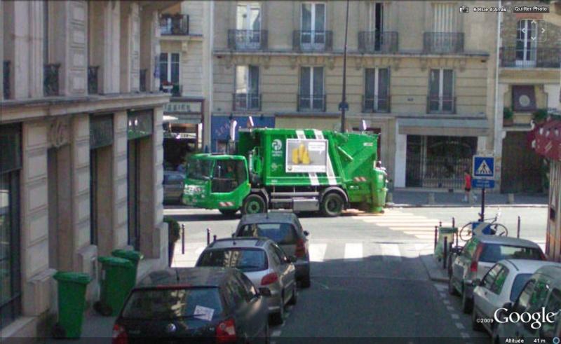 STREET VIEW : Les camions-poubelles, sujet glamour ! Camion15