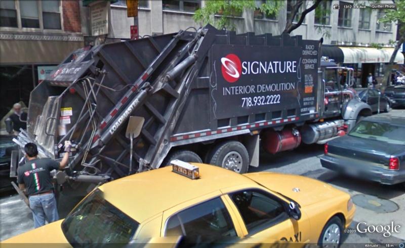 STREET VIEW : Les camions-poubelles, sujet glamour ! Campou10