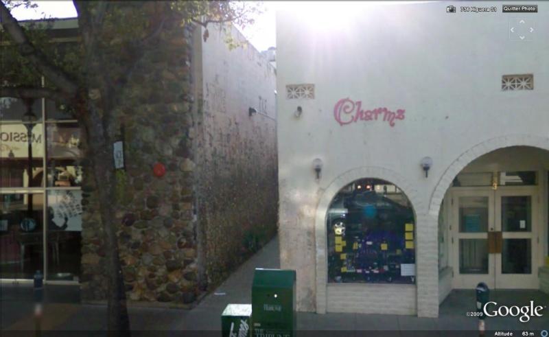 Murs de chewing gums à San Luis Obispo, Californie - USA Chewi110
