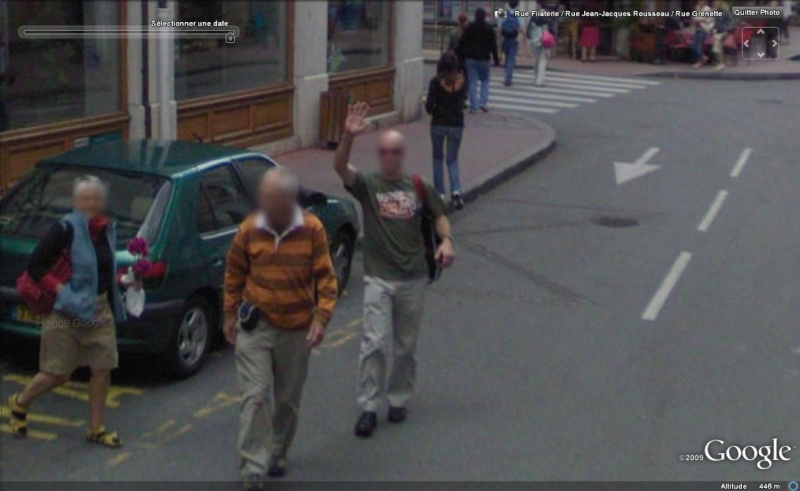 STREET VIEW : un coucou à la Google car  - Page 2 Coucou11