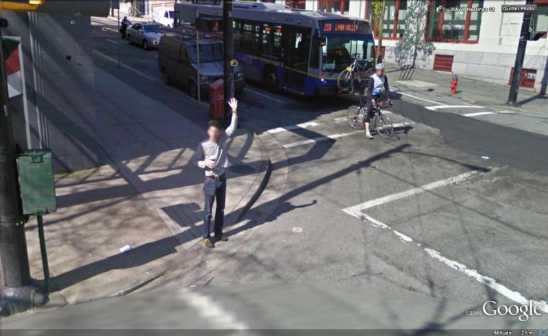 STREET VIEW : un coucou à la Google car  - Page 2 Coucou14