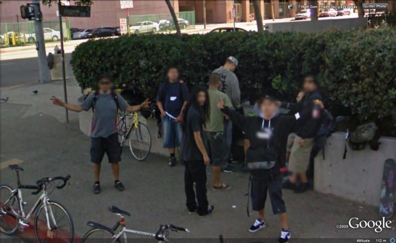 STREET VIEW : un coucou à la Google car  - Page 5 Coucou27
