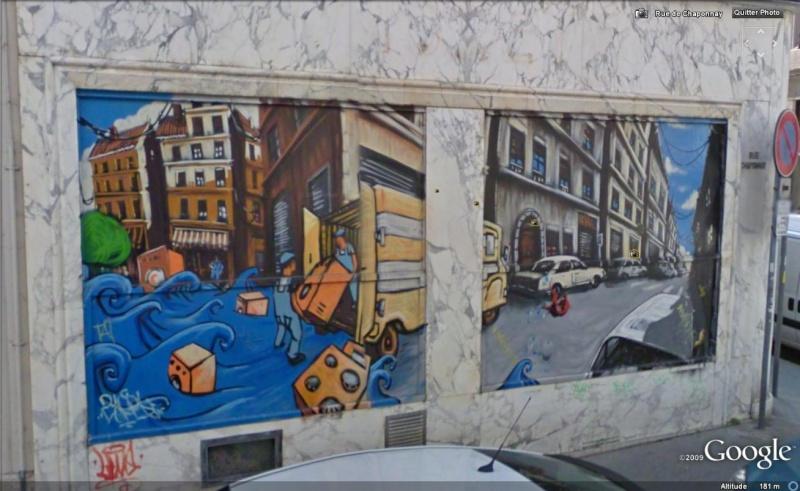 STREET VIEW : les fresques murales en France - Page 5 Fresqu12