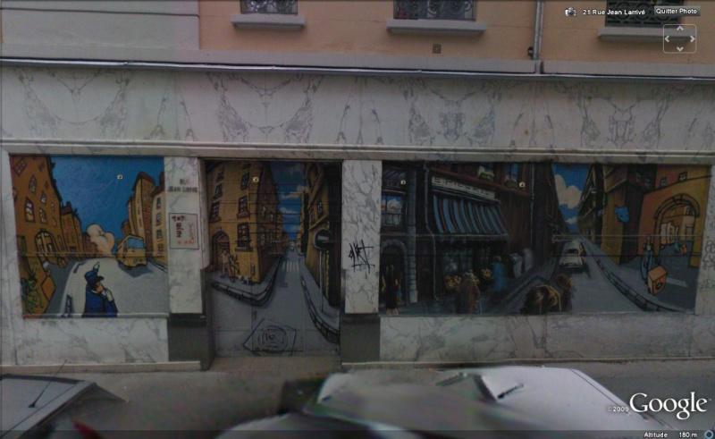 STREET VIEW : les fresques murales en France - Page 5 Fresqu13