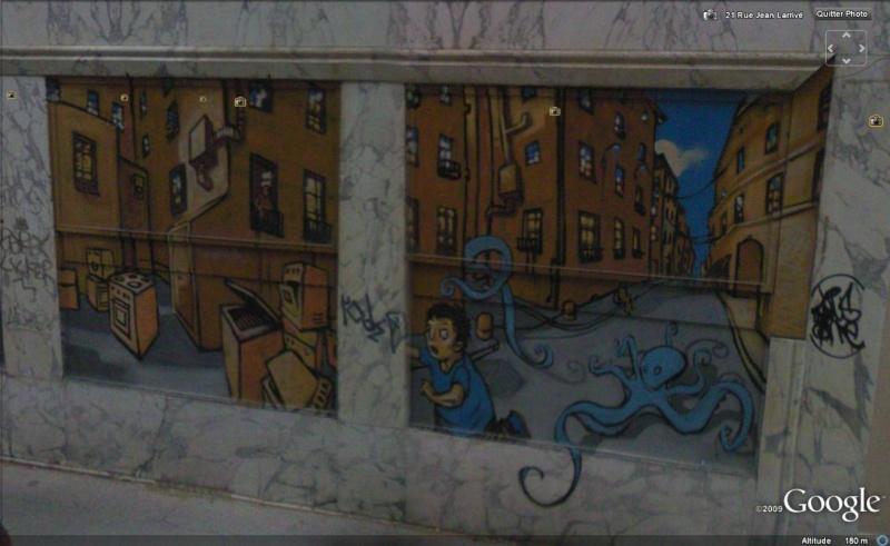 STREET VIEW : les fresques murales en France - Page 5 Fresqu14