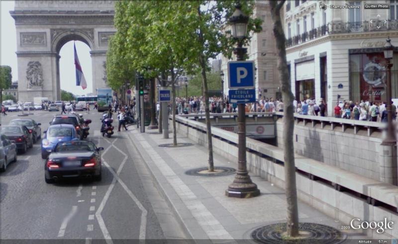STREET VIEW : Les ponts à hauteur limitée Hl10