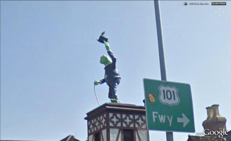 STREET VIEW : Statue de Kermit la grenouille Kermit10