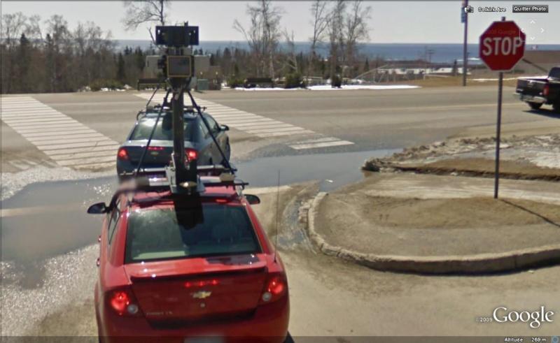 STREET VIEW : la Google car dans tous ses états ! - Page 2 Plein410