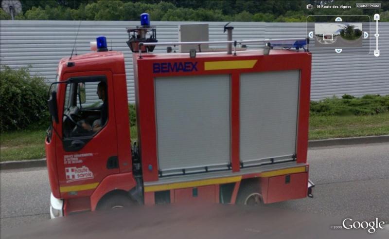 STREET VIEW : les camions de pompiers  Pompie10