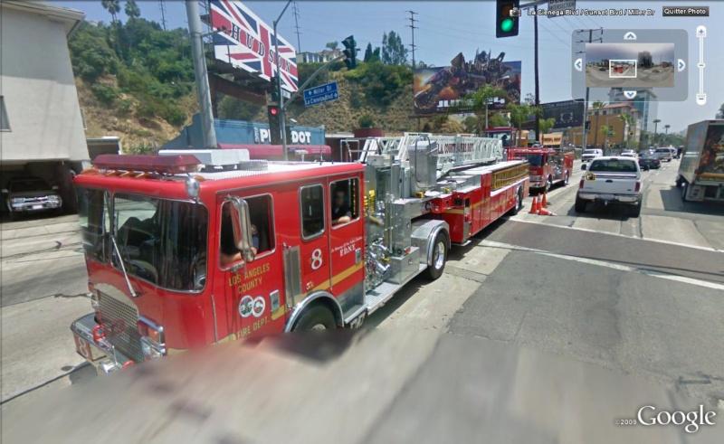STREET VIEW : les camions de pompiers  Pompie11