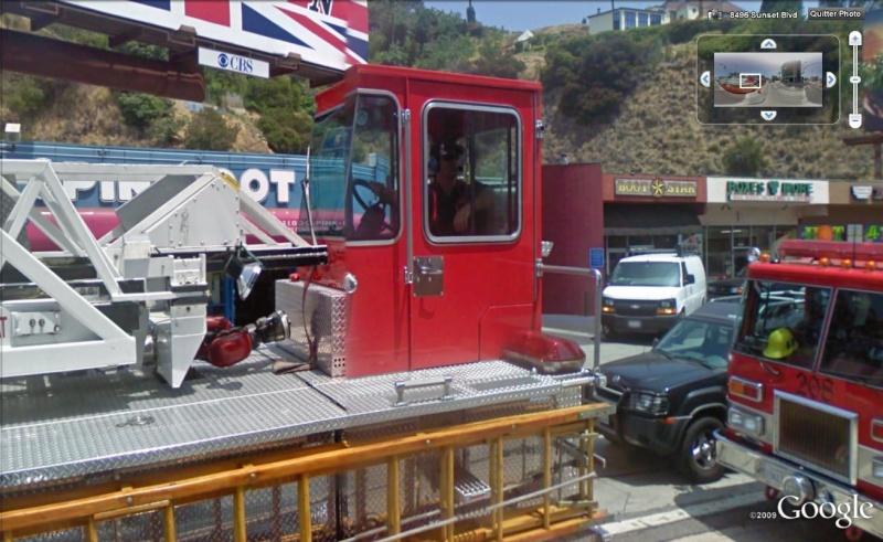 STREET VIEW : les camions de pompiers  Pompie12