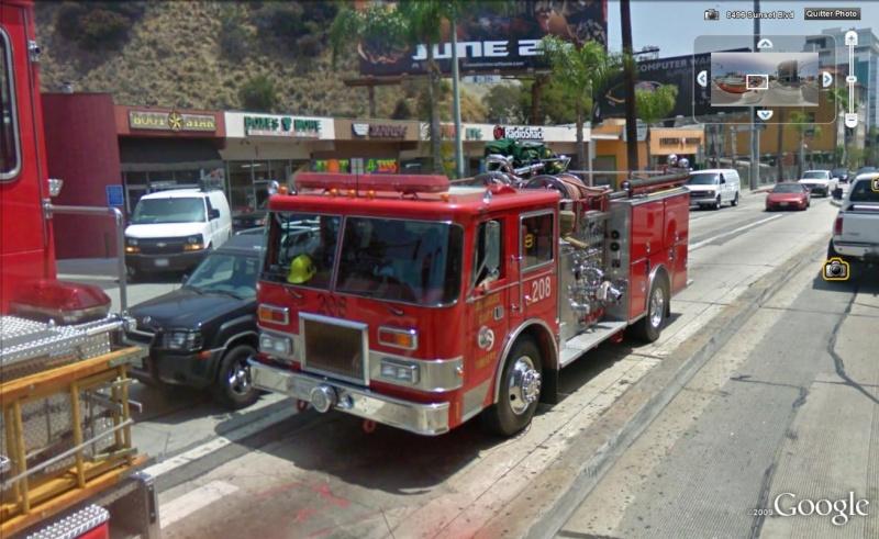 STREET VIEW : les camions de pompiers  Pompie13