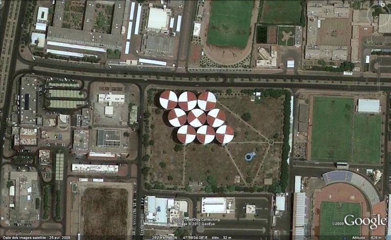Les objets familiers vus sur Google Earth : écrous - tapis - planche... & caetera - Page 5 Punais10