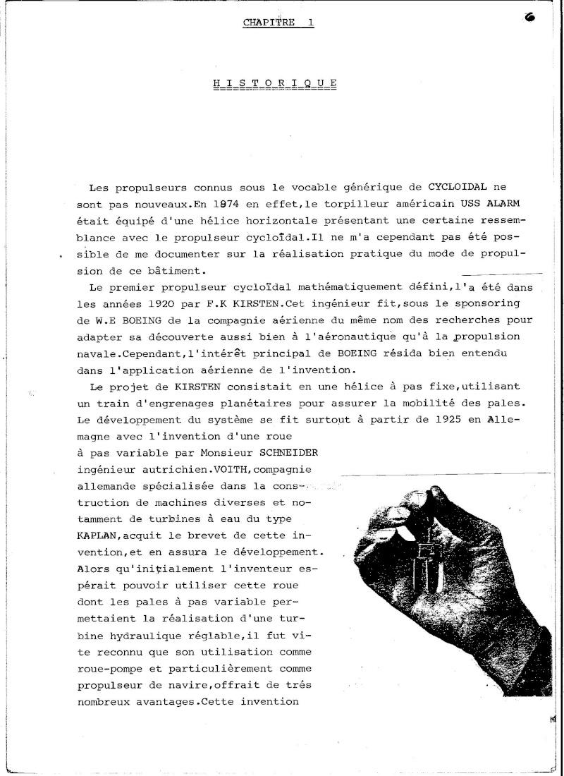 Propulseur cycloïdal -  Système Voight-Schneider  - Page 2 00111