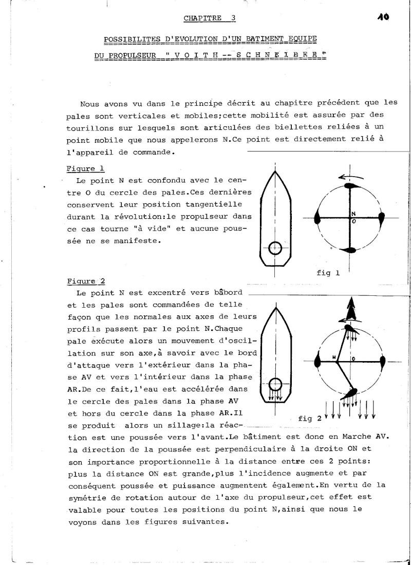 Propulseur cycloïdal -  Système Voight-Schneider  00410
