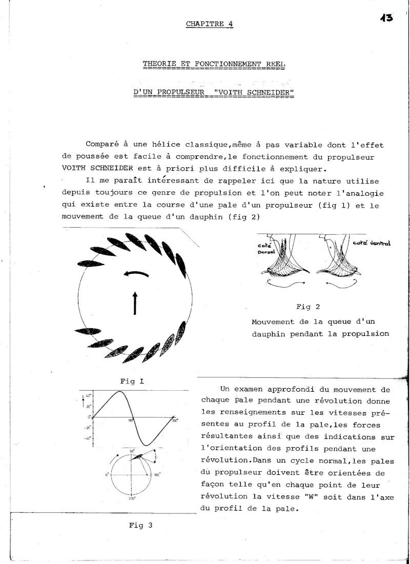 Propulseur cycloïdal -  Système Voight-Schneider  00710