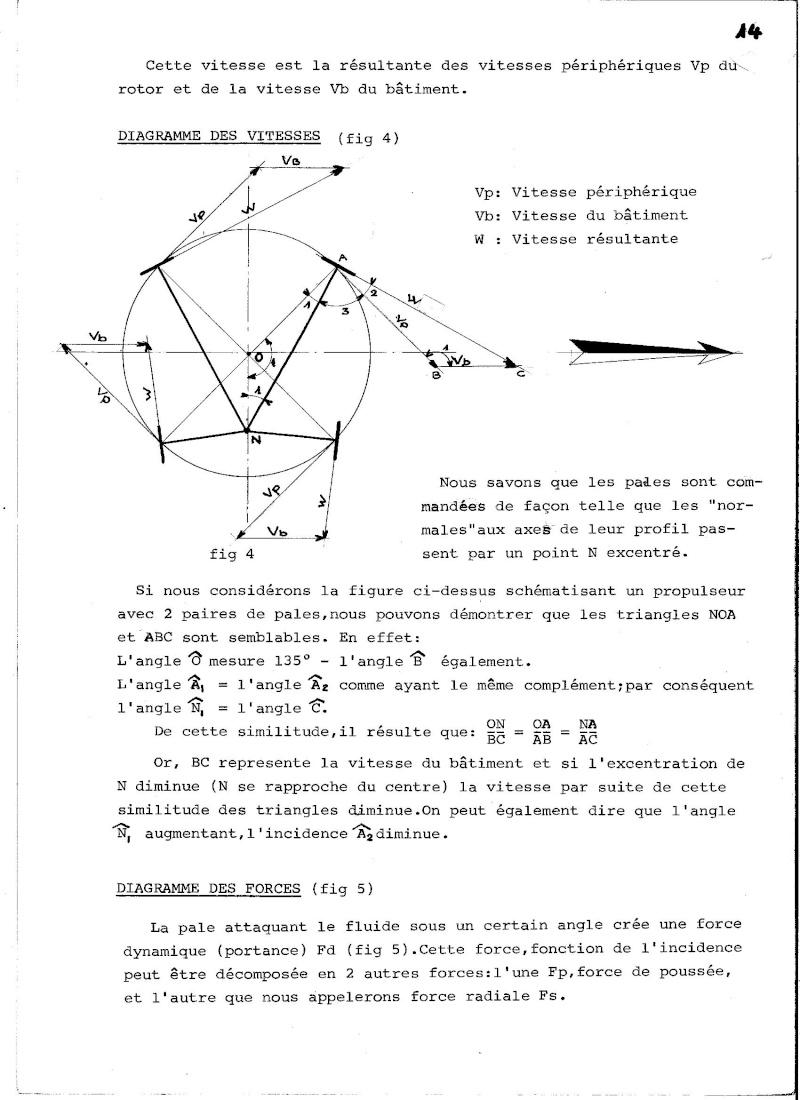 Propulseur cycloïdal -  Système Voight-Schneider  00810