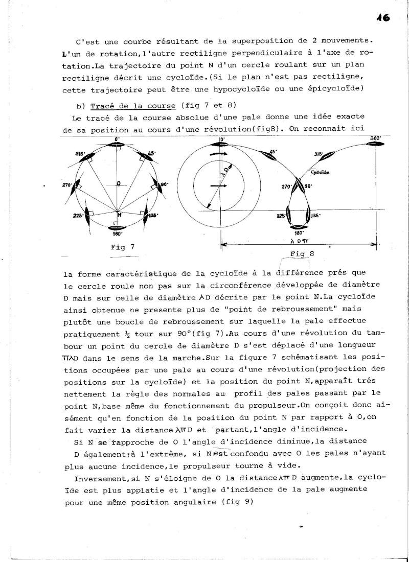 Propulseur cycloïdal -  Système Voight-Schneider  01010