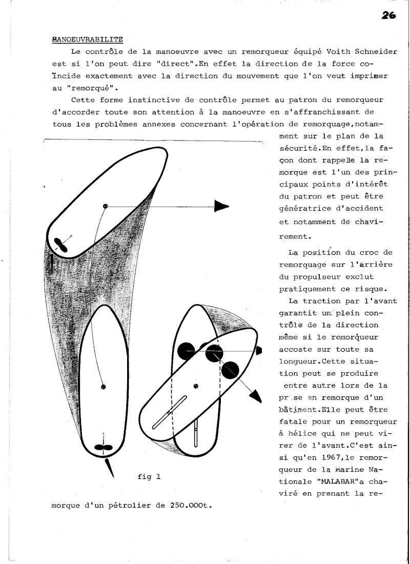 Propulseur cycloïdal -  Système Voight-Schneider  01311