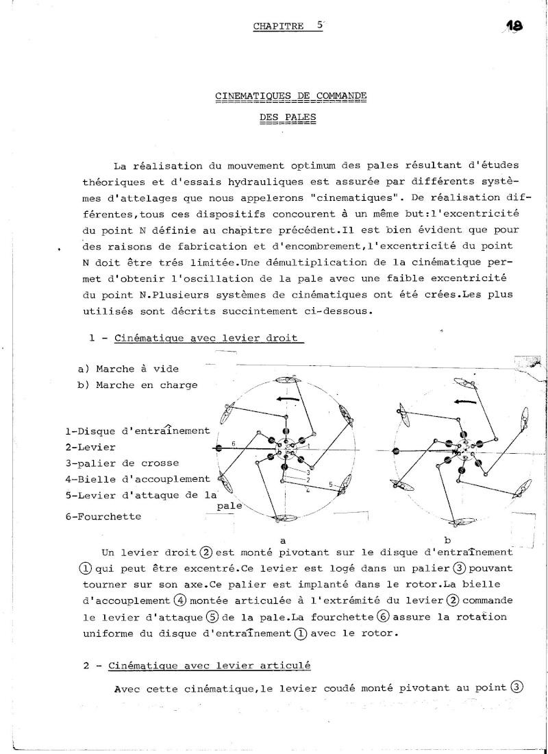 Propulseur cycloïdal -  Système Voight-Schneider  01710