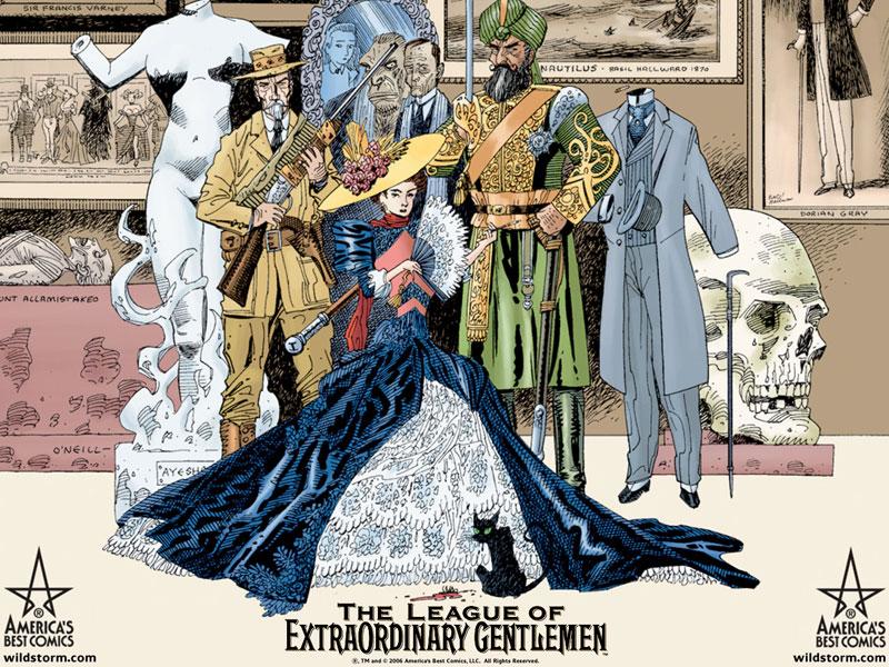 The League Of Extraordinary Gentlemen Century: 1910 The_le10