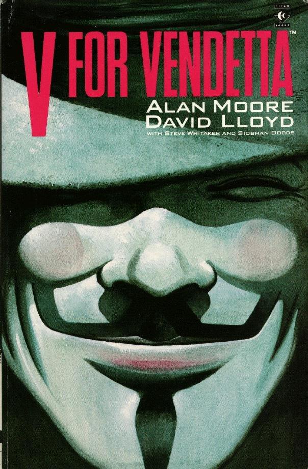 V de vendetta de Alan Moore y David Lloyd Vendet10