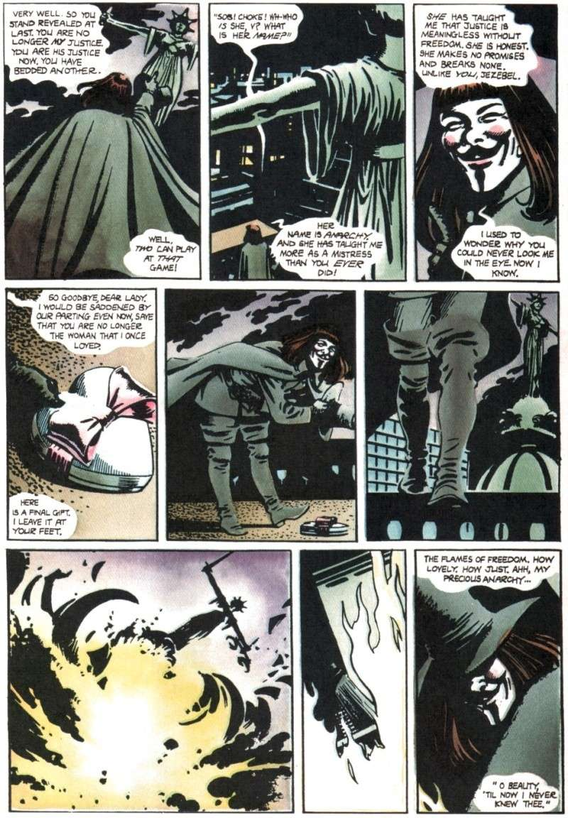 V de vendetta de Alan Moore y David Lloyd Vendet11