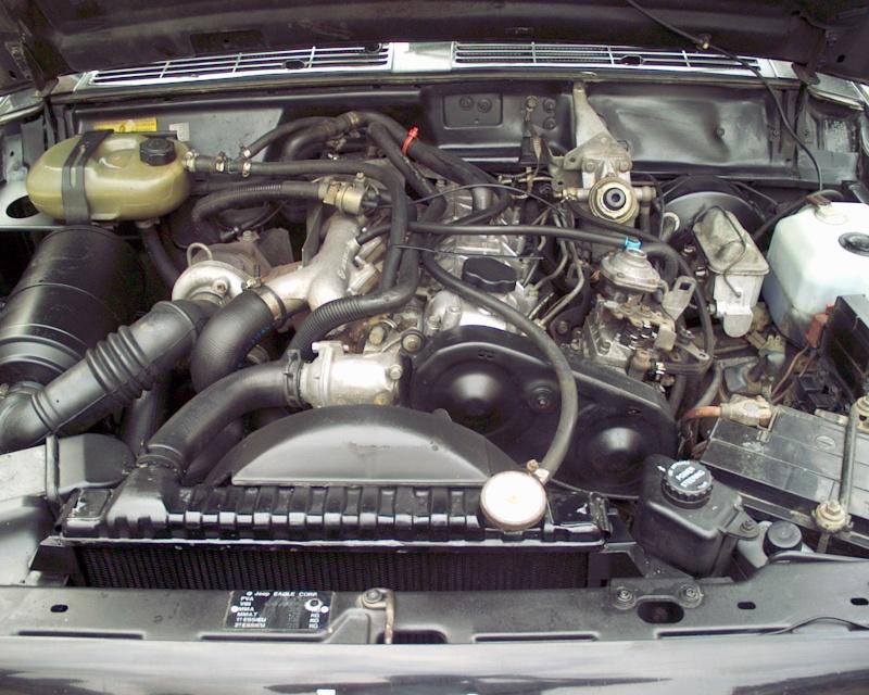circuit refroidissement 2,1 TD Moteur10