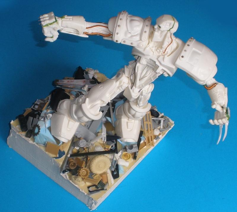 Warrior Robot (Judge Dredd) Socle_11