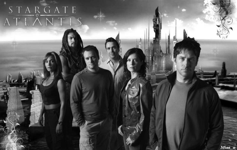 Stargate Atlantis - Contrastes - L'équipe - G Wall_n10