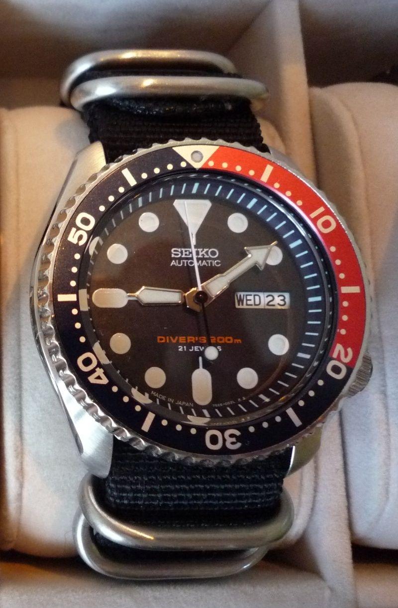 Jai fais l'acquissition de cette montre de plongée et j'aimerais bien votre avis Diver210