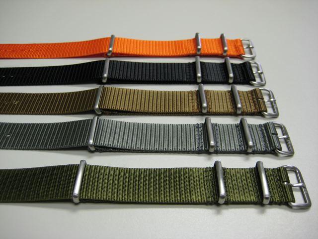 Commande (groupée ?) de bracelet NATO Westco10