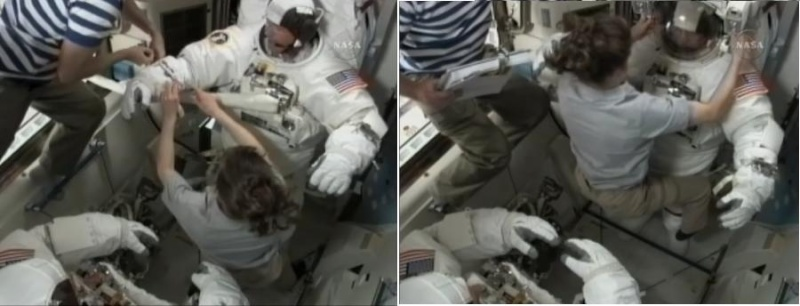 [STS-132] Atlantis : EVA 2, Steve Bowen et Mike Good. C310