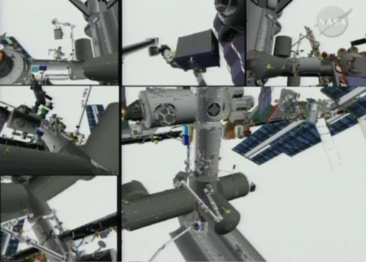 [STS-131 / ISS19A] Discovery : EVA 1 Anderson et Mastracchio Eva2510