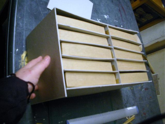 tuto pour une boite à tiroirs en cartonnage 1412