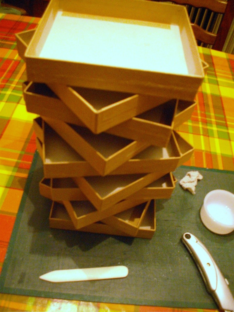 tuto pour une boite à tiroirs en cartonnage 1611