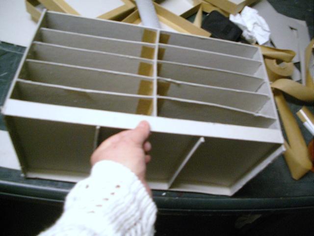 tuto pour une boite à tiroirs en cartonnage 1910