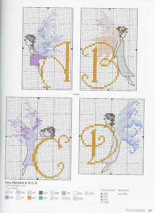 grilles de fées pour broderie Cross_33