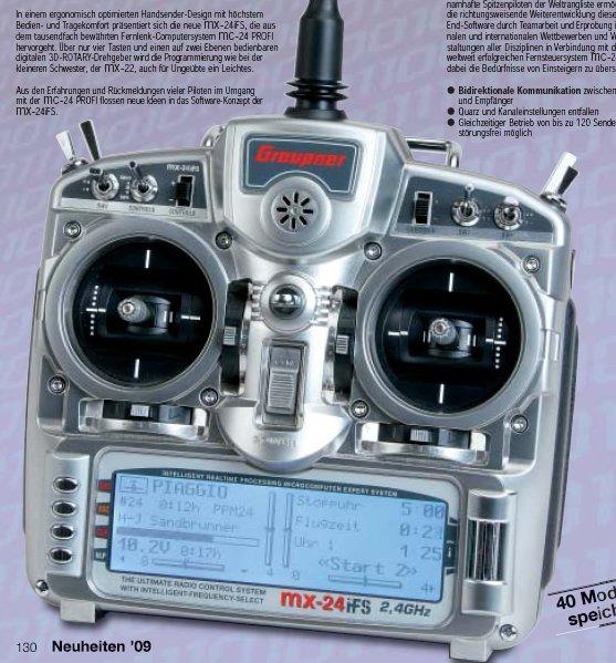 Graupner MC32 Mx2410