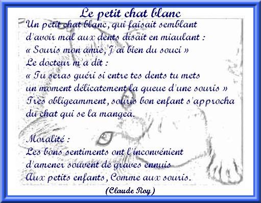 """Le petit chat blanc  de """"Claude Roy"""" Ti8f3a10"""