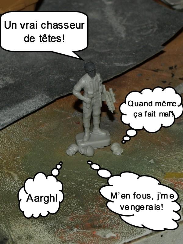 VAB T20-13 [HELLER+AZIMUT] 1/72. Fin, le 22/11/2010. - Page 2 P1016030