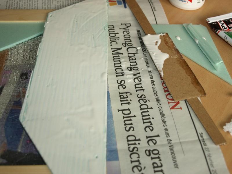 Construction d'un diorama : une route de campagne. C'est fini. P1016132