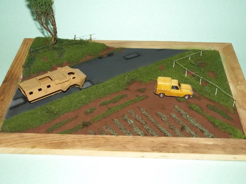 Construction d'un diorama : une route de campagne. C'est fini. - Page 2 P1016533