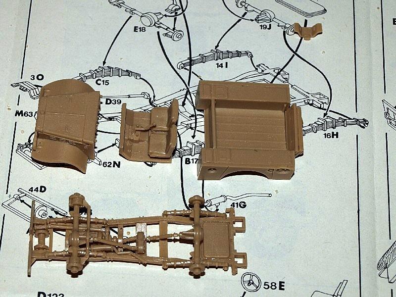 Dodge WC 52 Indochine [ESCI] 1/72 P1017227