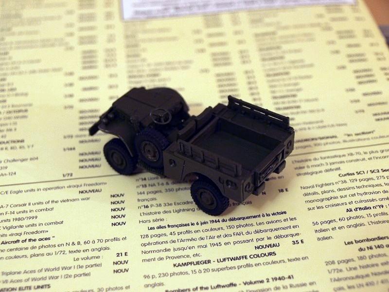 Dodge WC 52 Indochine [ESCI] 1/72 P1017310